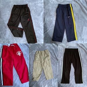 Boys 2t winter sweat pants khaki lot Nike